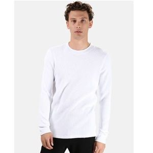 Cotton Citizen || Henleys White Thermal Top
